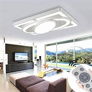 Schlafzimmer Lampe Modern : deckenlampe led deckenleuchte 64w wohnzimmer lampe modern deckenleuchten kueche badezimmer flur ~ Watch28wear.com Haus und Dekorationen
