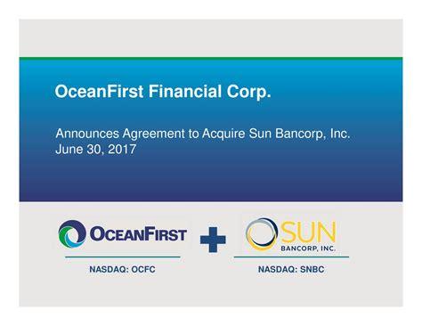 OceanFirst Financial Corp