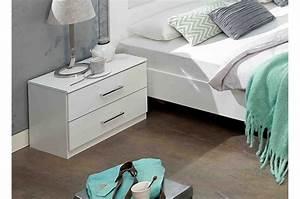 Lit 180x200 Blanc : lit adulte design blanc 180x200 cm cbc meubles ~ Teatrodelosmanantiales.com Idées de Décoration
