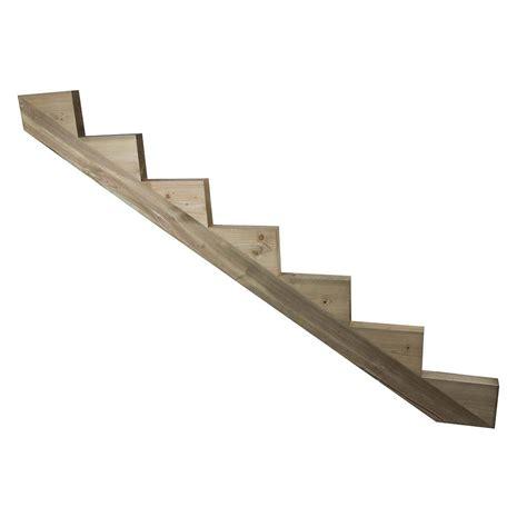 limon 7 marches escalier pin trait 233 escalier pour l ext 233 rieur deck linea