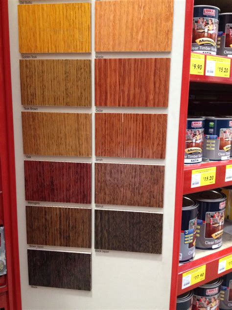 stain colours  bunnings floor stain stain colors