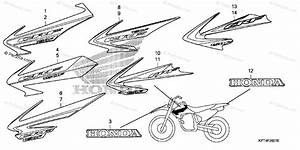 Honda Motorcycle 2006 Oem Parts Diagram For Mark  2