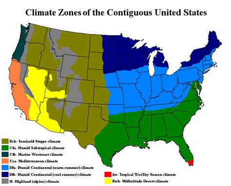 Best Climate For Humans? (usa, Most, Wear, Degrees