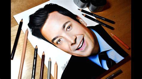 Drawing Jimmy Fallon