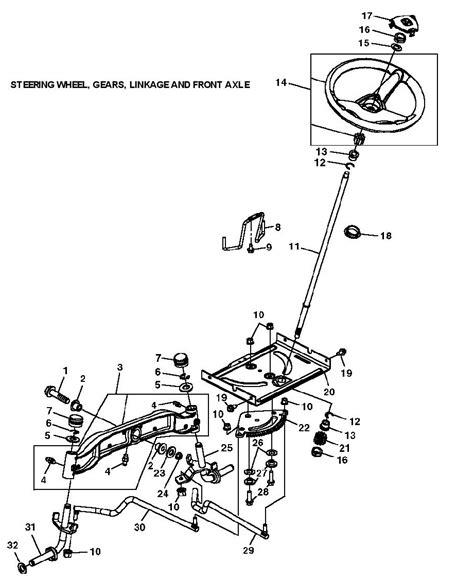 deere l120 garden tractor spare parts