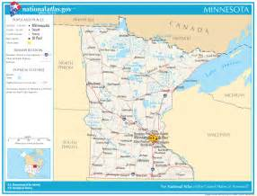 mn road map minnesota state images