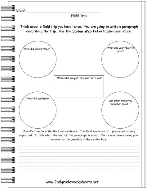 free writing prompt worksheets for 2nd grade 1000 images