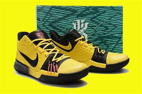 Nike Kyrie 3 ?Mamba Mentality? Tour Yellow/Black For Sale