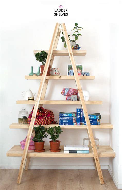 Diy Ladder Shelves  A Pair & A Spare Bloglovin'