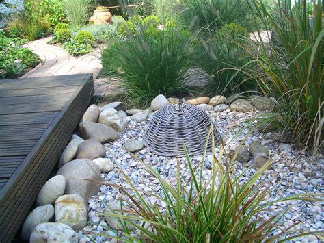 Gartengestaltung Gräser by Garten Kies Gr 228 Ser Gartengestaltung Mit Steinen Und Grasern