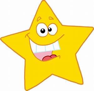 Happy star clip art - Clipartix