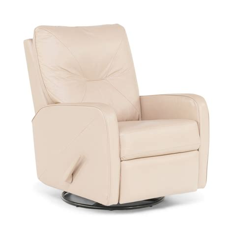 theo leather swivel rocker recliner hom furniture