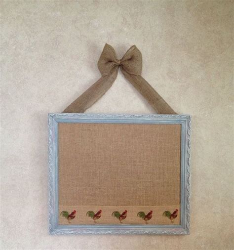 shabby chic memo board memo board cork board vintage frame shabby chic cottage french country rustic rooster shabby