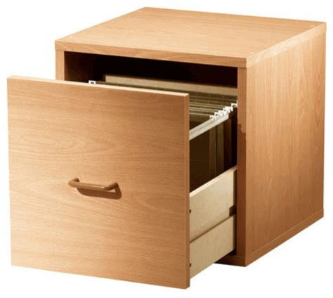 single drawer file cabinet single file drawer cube honey contemporary filing