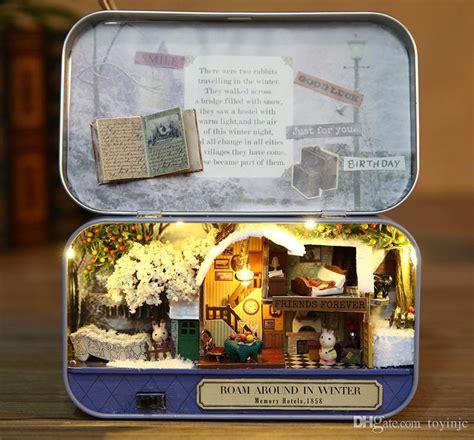 assembling furniture doll house diy miniature model