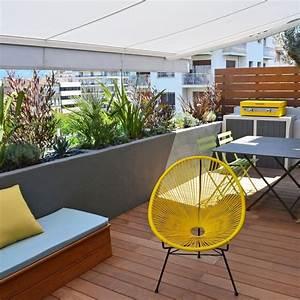 Aménager Une Terrasse : am nager une grande terrasse 10 solutions possibles ~ Melissatoandfro.com Idées de Décoration