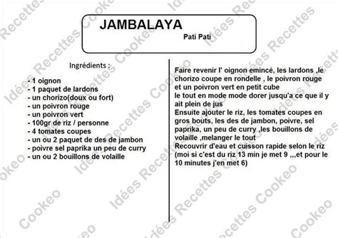 image recette cuisine jambalaya recettes cookeo