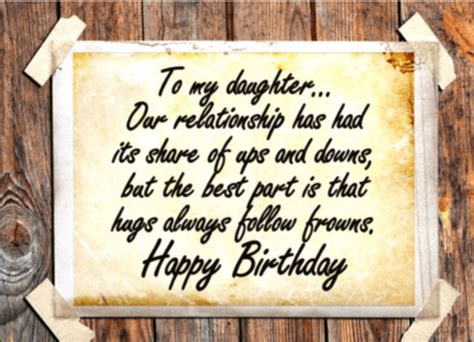 happy birthday quotes  sentiments  daughter