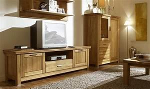 Meuble Tv Haut De Gamme : meuble tv en ch ne massif haut de gamme prix discount ~ Teatrodelosmanantiales.com Idées de Décoration