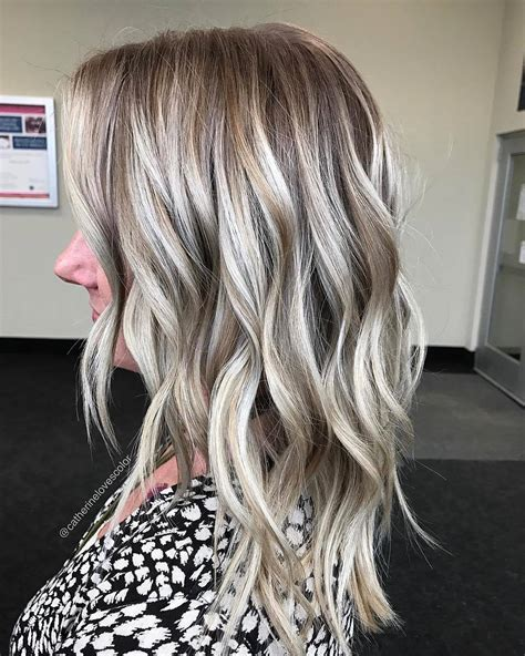 blonde balayage hair color ideas  beige gold silver