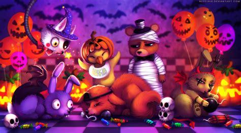 Steven Universe Computer Wallpaper Happy Halloween Fnaf Fanart By Neytirix On Deviantart