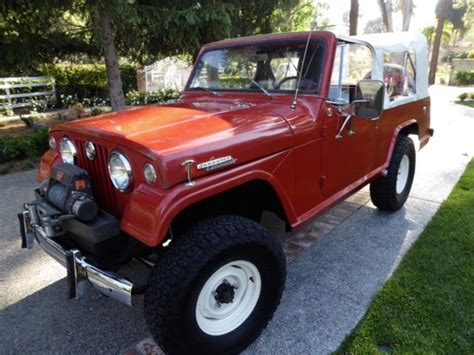commando jeepster 1967 jeepster commando 4x4 restored classic awesome