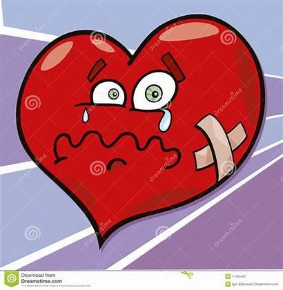 Broken Heart Cartoon Royalty Illustration Clip Clipart