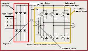 Electrical Engineering World  Variable Frequency Drive Circuit Diagram