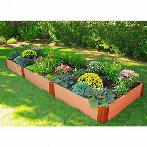 Composite Raised Garden Bed 4 U0026 39  X 12 U0026 39  X 12 U0026quot