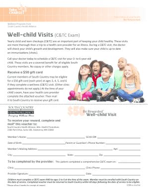 4 year old well child exam form fillable online mnscha well child visit voucher pdf
