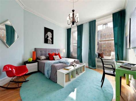 bedroom paint decor with blue carpet ideas interior design