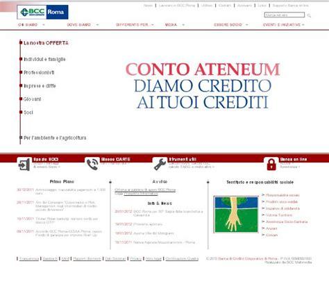 banca credito cooperativo roma banche  roma