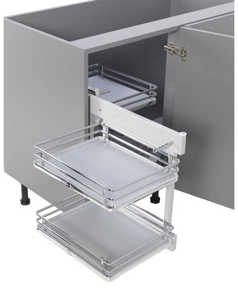 corner storage units for kitchens innostor corner optimiser ip2bc010 suits 1000mm kitchen 8372