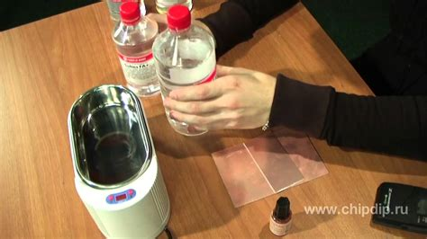Ultrasonic Pcb Cleaning Youtube