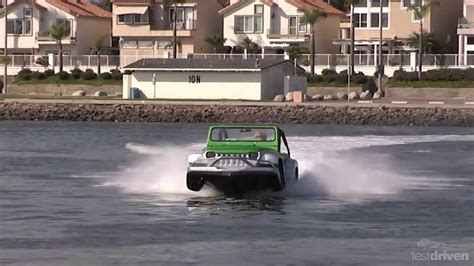 hibious jeep watercar panther amphibious jeep youtube