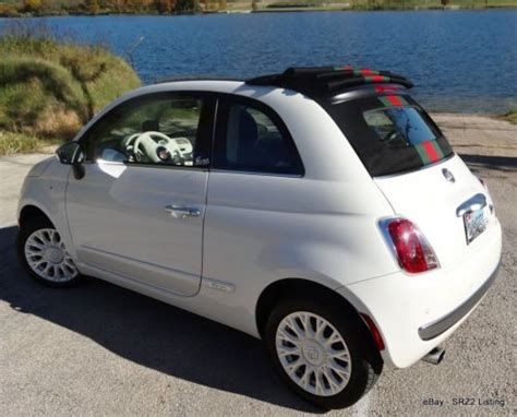 Gucci Fiat Convertible by Find Used 2012 Special Edition Fiat 500c Gucci Cabrio
