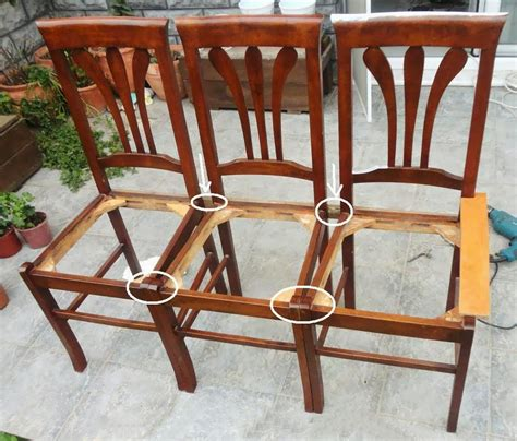 Bench Chair by Make A Bench From Chair Building Furnisher Dressers
