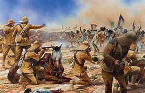 Wallpaper Figure  Art  Soldiers  Swords  Shields  Spears  Rifle  Ammunition  British  Revolvers