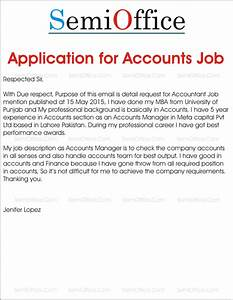 job application for accountant positions With cover letter for financial accountant job application