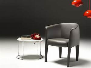 milo petit fauteuil by estel group design studio kairos With petit fauteuil en cuir