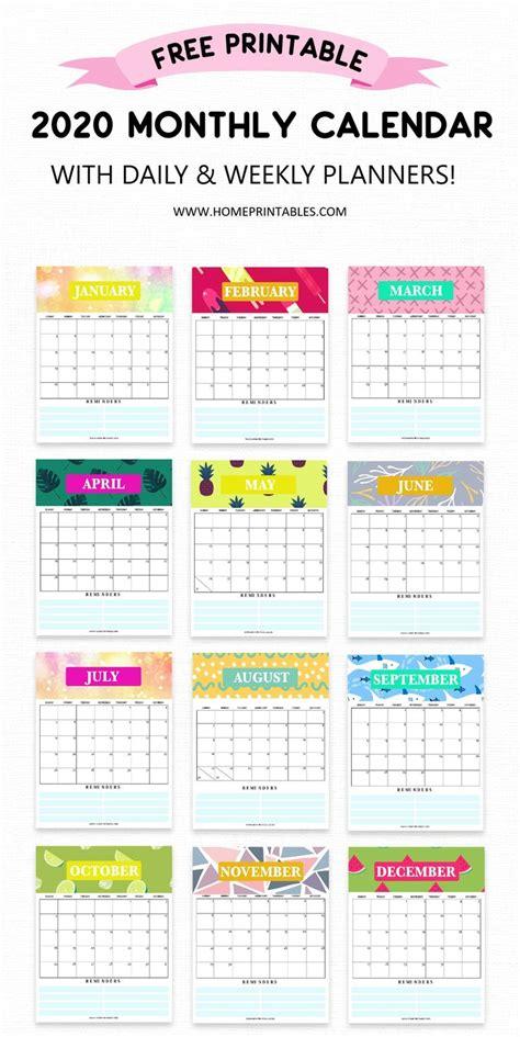 calendar  printable  weekly planner