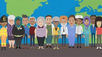 Diversity Vyond Animation Clipart Inclusion