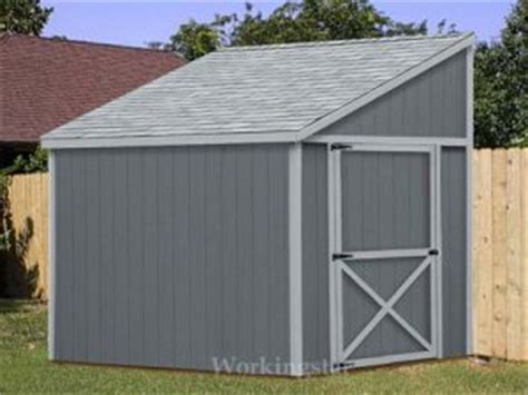 12x16 slant roof shed plans cedar lean to shed plans how build