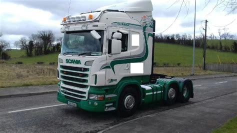 scania  tractor unit  ireland  sale  truck