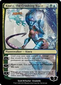 Magic the Gathering - Kiora, the Crashing Wave by ...