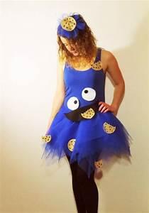 Krümelmonster Kostüm Damen Selber Machen : schnelles faschingskost m selbermachen kr melmonster goes karneval makehappystuff ~ Frokenaadalensverden.com Haus und Dekorationen