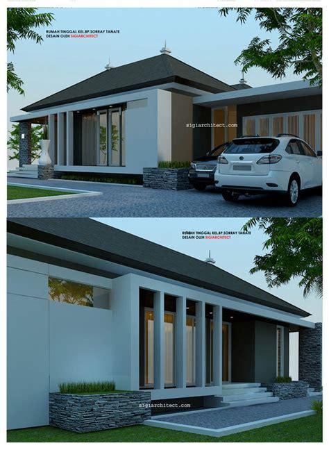 desain rumah  lantai minimalis modern