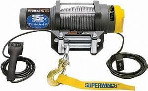 Superwinch 1145220 Terra 45 Atv  U0026 Utility Winch  4500lbs