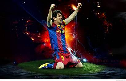 Messi Lionel Football Wallpapers Goal Barcelona