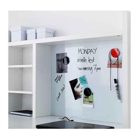Ikea Desk Hutch Whiteboard by Micke Add On Unit High White Ikea